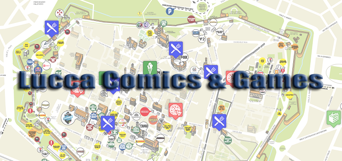 Gluten-free Lucca Comics: where you can eat gluten-free in Lucca