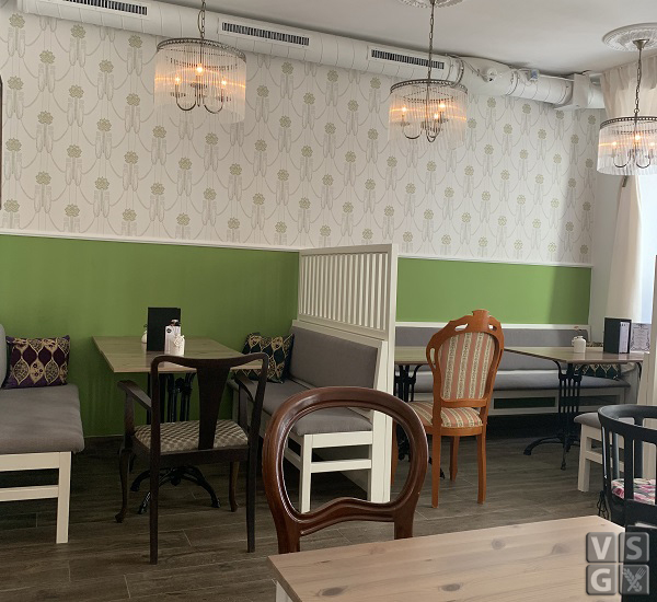 Wien - Cafe' Gruner Salon
