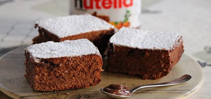 Gluten-free Nutella brownies